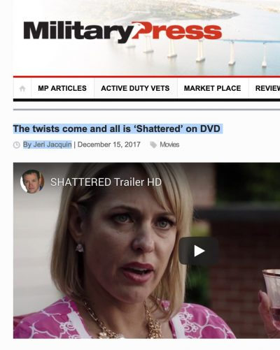 Shattered VOD/DVD Review